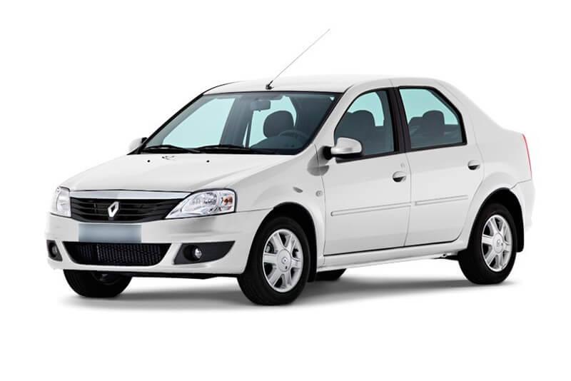 Renault Logan (белый)