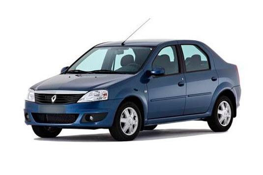 Renault Logan (синий)