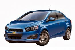 Chevrolet Aveo (синий)