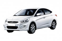 Hyundai Solaris (белый)