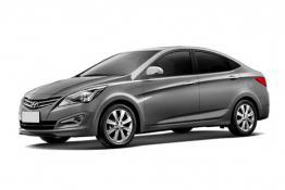 Hyundai Solaris (черно-серый)