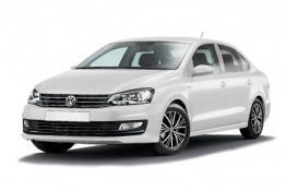 Volkswagen Polo (белый)